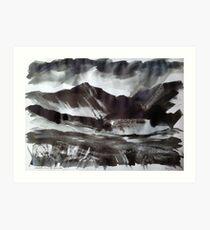 'Cadair Idris and Cwm Cau, Dolgellau' Art Print
