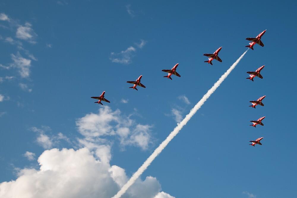 Red Arrows by David Ellins
