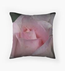 Faded Rose Throw Pillow