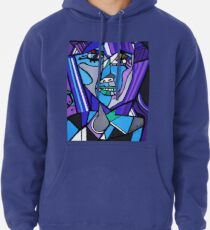 ART DECO   PICASSO BY NORA Pullover Hoodie