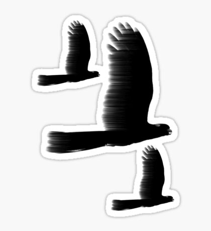 Black Cockatoos Sticker