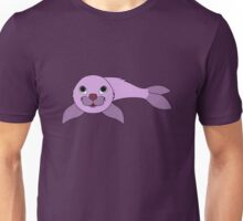 Light Purple Baby Seal Unisex T-Shirt