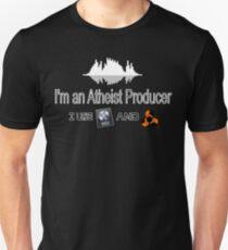 "Atheist Producer (Black) - ""I use Logic and Reason"" T-Shirt"