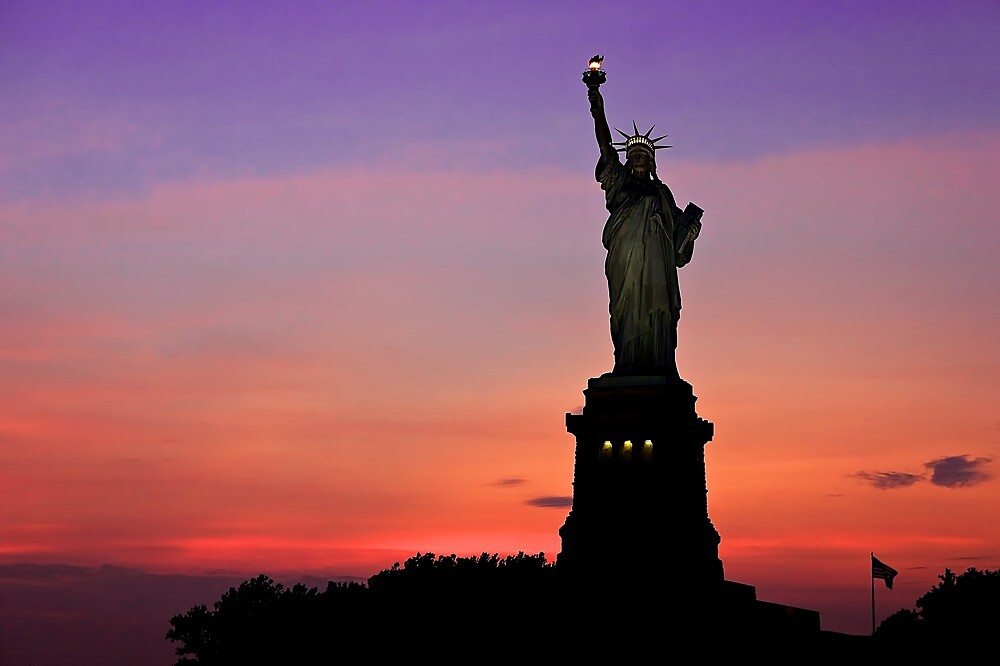 Statue of Liberty NYC by fernblacker