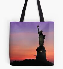 Statue of Liberty NYC Tote Bag