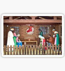 Palencia Nativity Scene Sticker