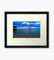 Samoan evening Framed Print