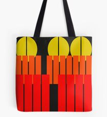 Urban Abstract - Sunset Autumn Tote Bag