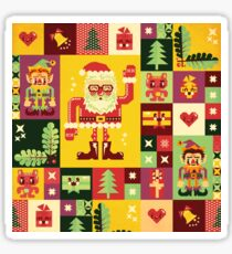 Christmas Pattern No. 1 Sticker