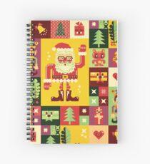 Christmas Pattern No. 1 Spiral Notebook