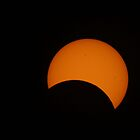 Partial Solar Eclipse by Keith Arends