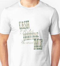 Cash Rules everything around me C.R.E.A.M. - T Shirt T-Shirt
