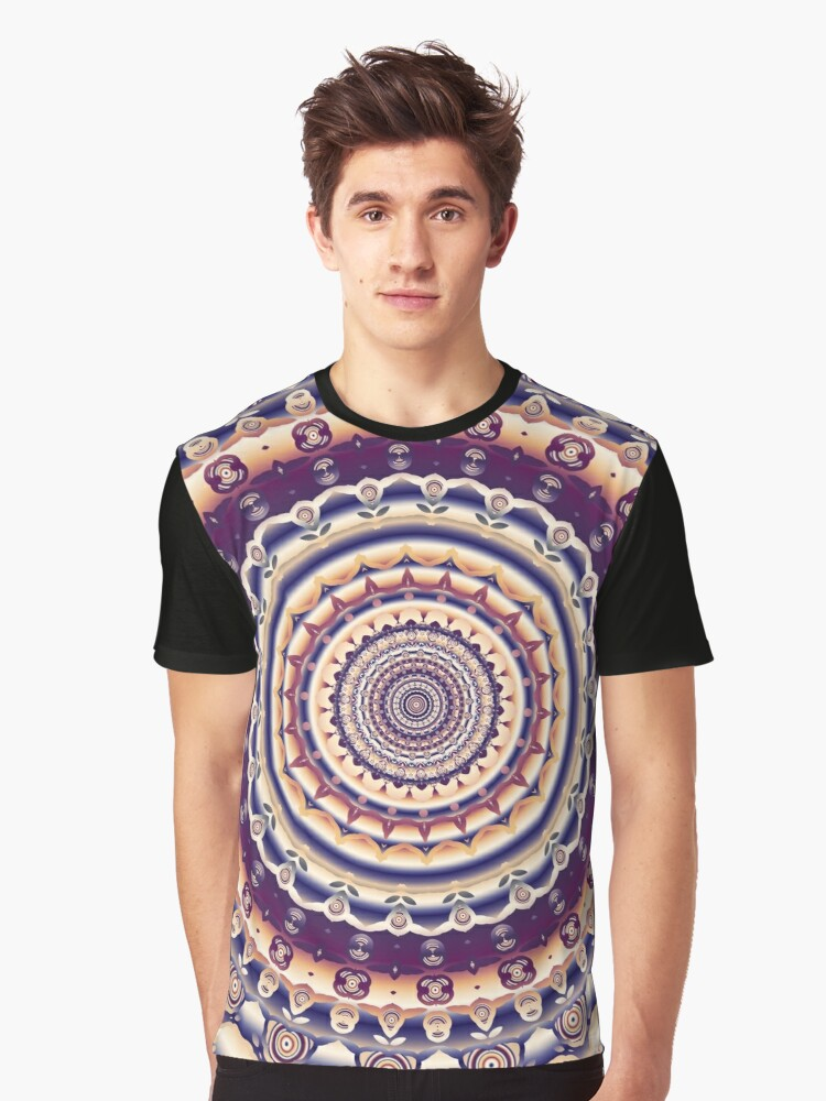 Abstractions in Colors Graphic T-Shirt Front