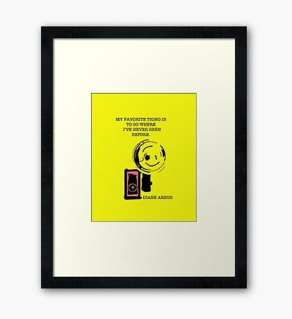 Diane Arbus Framed Print