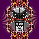 Honey Badger and cobras by Meerkatsu