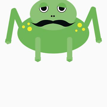 Moustached Frog by sandypants