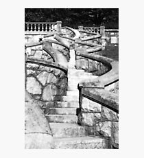Stone Steps Photographic Print
