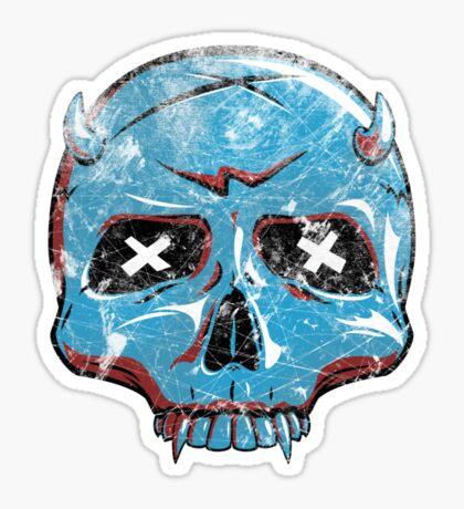 Demon Skull Sticker
