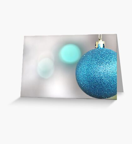 Christmas Bauble Greeting Card