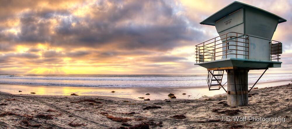 Lifeguard Pano by jswolfphoto