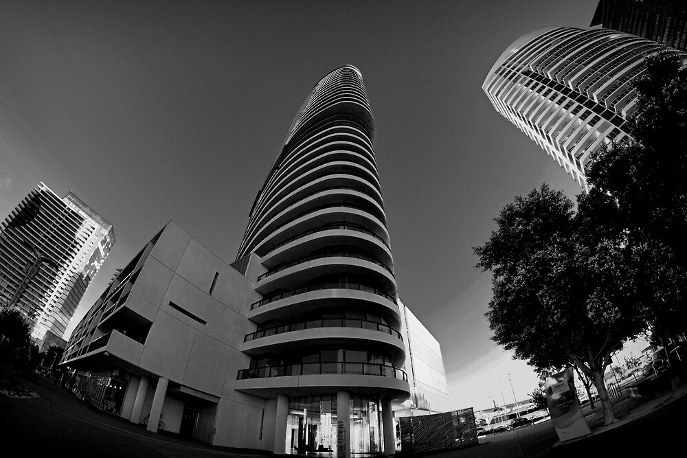 Tower at Docklands II by photojunk