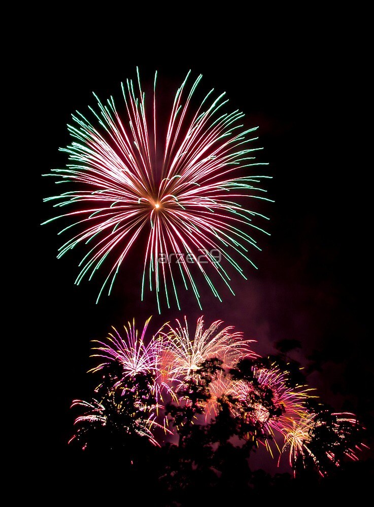 fireworks by arze29