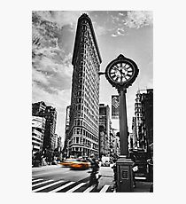 Flatiron Rush Photographic Print
