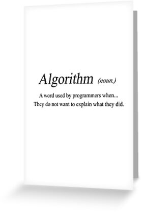 Algorithm meaning greeting cards by workwithstellio redbubble algorithm meaning by workwithstellio reheart Choice Image