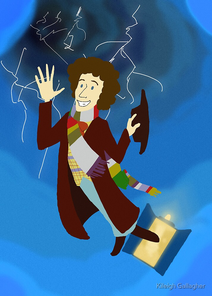 4th Doctor in the Time Vortex by Kileigh Gallagher