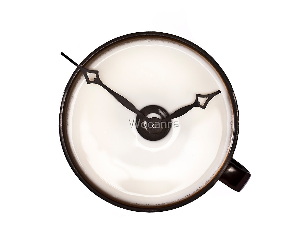 Cup Clock by Wooanna