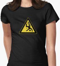 Danger Cliff, Chinese Sign T-Shirt