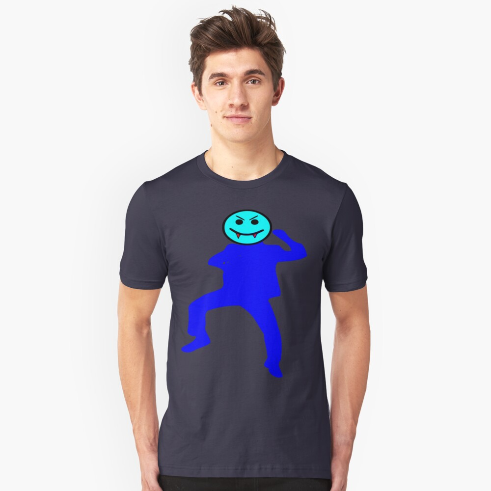 ★ټVampire Smiley Style Hilarious Clothing & Stickersټ★ Unisex T-Shirt Front