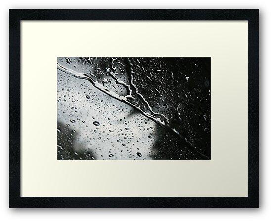Storm on the Windshield by Gëzim Geci
