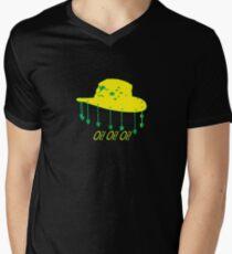 Hat Mens V-Neck T-Shirt