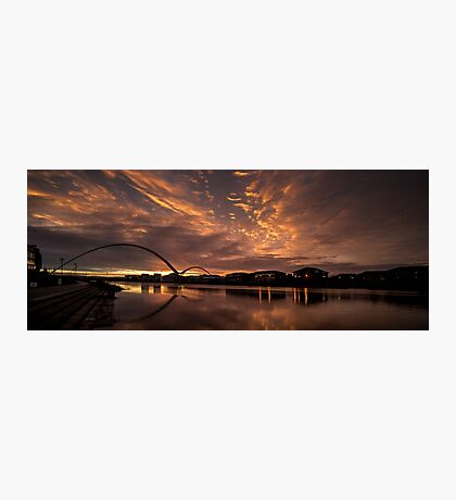 Infinity Bridge Sunrise Photographic Print