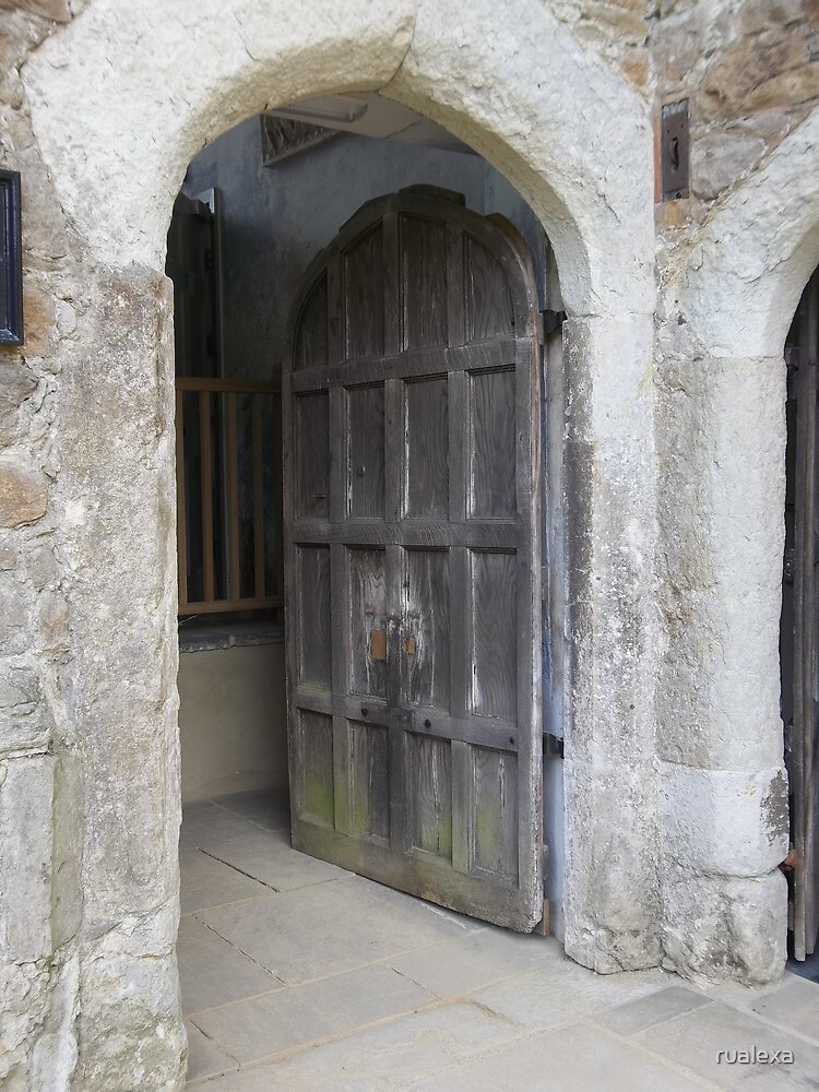 Old Door at Knole by rualexa