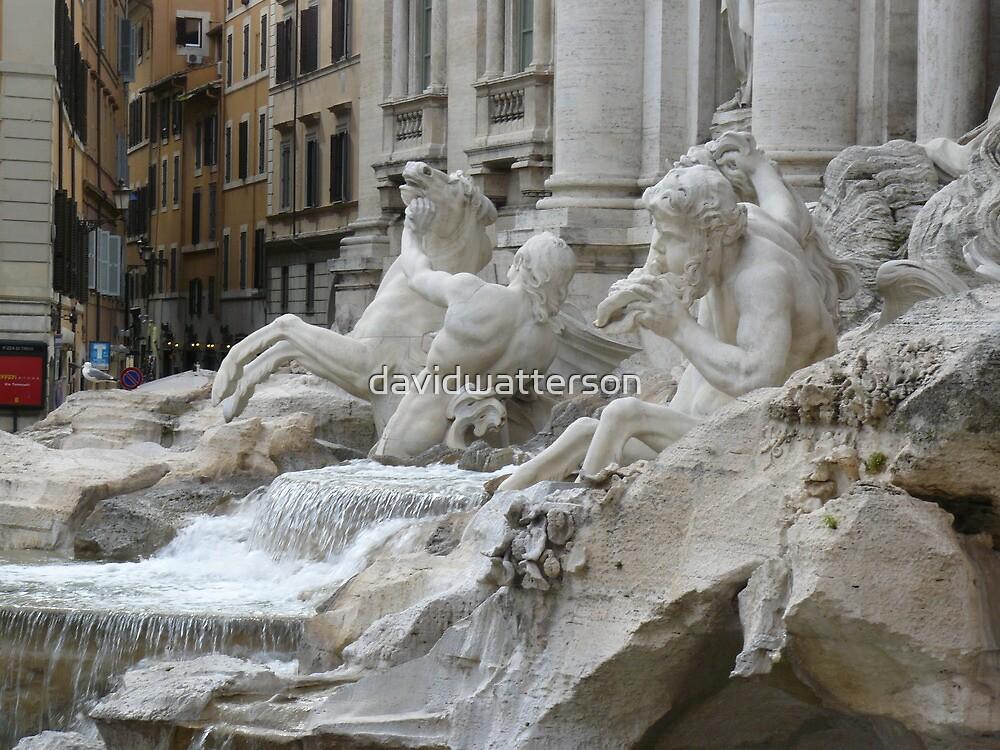 Roman Fountain by davidwatterson
