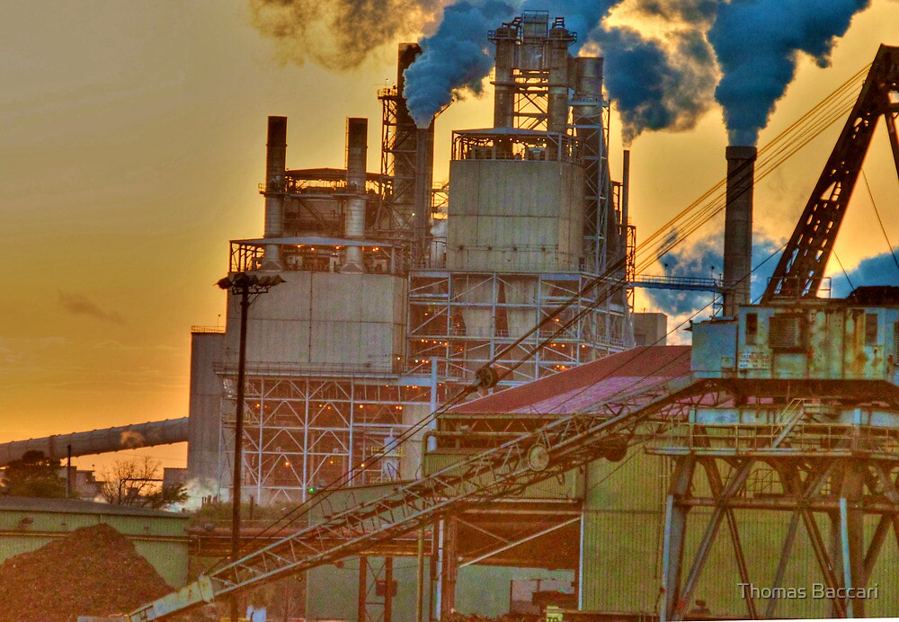 Georgetown Steel Mill by TJ Baccari Photography