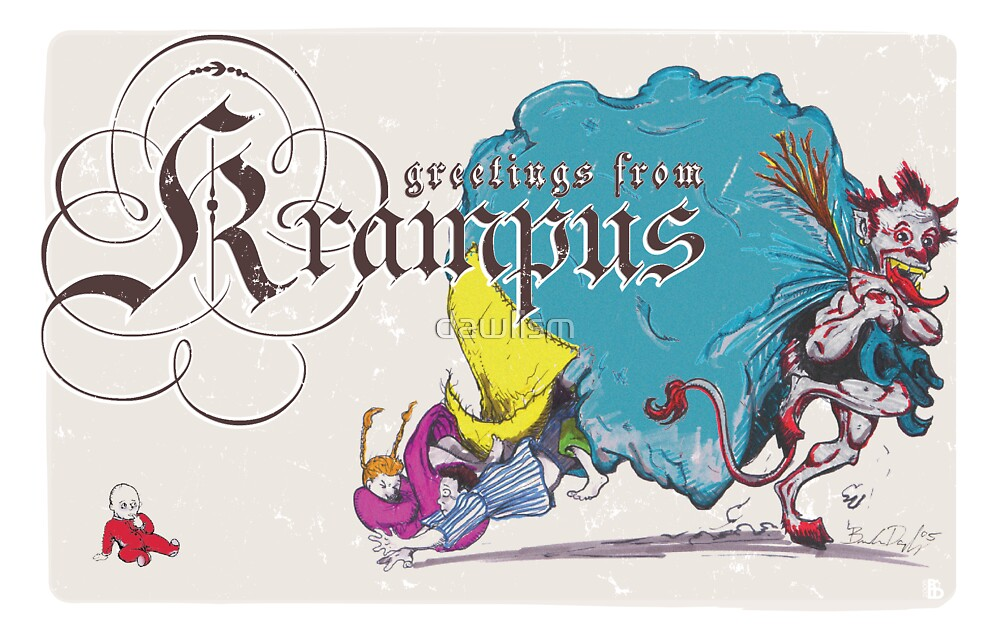 Krampus - Angry Guy Edition by dawlism