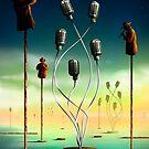 Flautistas. by Marcel Caram