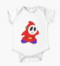 Little Red Shy Guy One Piece - Short Sleeve