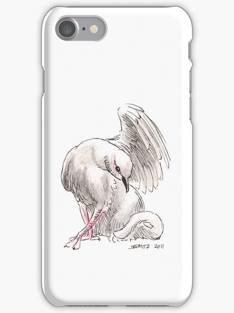 Sketch -- Mythological House Griffin, Dove Variety by Stephanie Smith