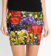 Field of Flowers Mini Skirt
