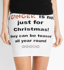 Ginger is not just for Christmas Mini Skirt