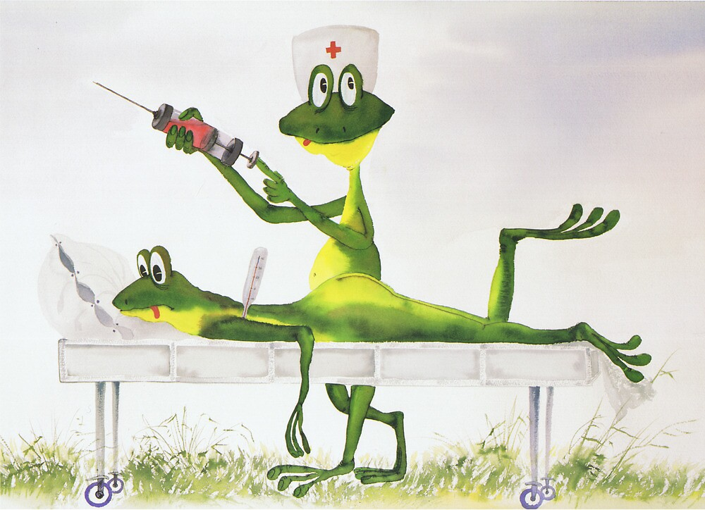 All about Frogs 4, The Doctor by SergejK