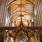Worcester Cathedral, Gold and Glorious. by Maybrick