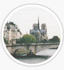 Cathedrale Notre-Dame de Paris Sticker