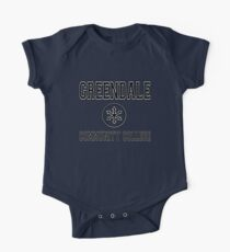Greendale Community College One Piece - Short Sleeve