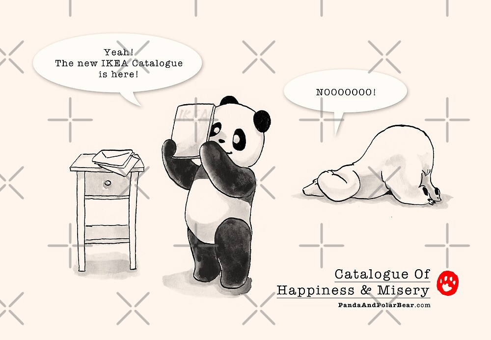 Catalogue Of Happiness And Misery by Panda And Polar Bear