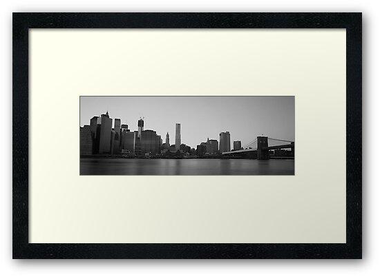 Manhattan & Brooklyn Bridge by AFPhotography